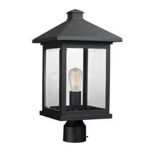 "Portland - 18.50"" One Light Outdoor Post Lantern"