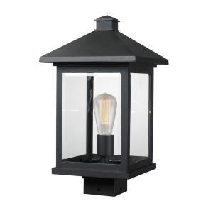 "Portland - 17"" One Light Outdoor Post Lantern"