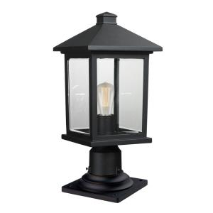Portland - 1 Light Outdoor Pier Mount Lantern