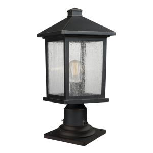 Portland - 17.75 Inch One Light Outdoor Pier Mount