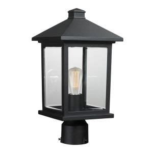 Portland - 16 Inch One Light Outdoor Post Lantern