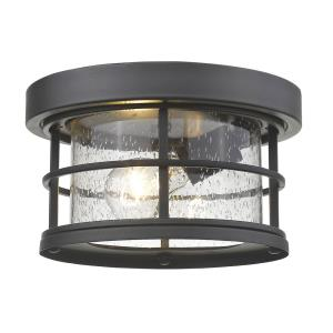 Exterior Additions - 10 Inch One Light Outdoor Flush Mount