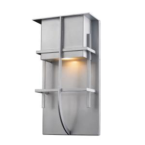 Stillwater - 14W 1 LED Outdoor Wall Mount in Contemporary Style - 7.88 Inches Wide by 14.75 Inches High