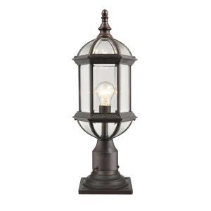 Annex - 1 Light Outdoor Pier Mount Lantern