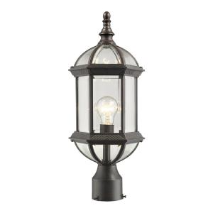 Annex - 1 Light Outdoor Post Mount Lantern