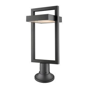 """Luttrel - 25.63"""" 12W 1 LED Outdoor Pier Mount Post Lantern"""