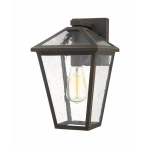 Talbot - 1 Light Outdoor Wall Mount in Traditional Style - 8.25 Inches Wide by 13.25 Inches High
