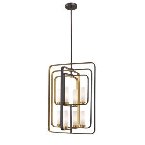Aideen - 8 Light Pendant in Fusion Style - 19.75 Inches Wide by 29 Inches High