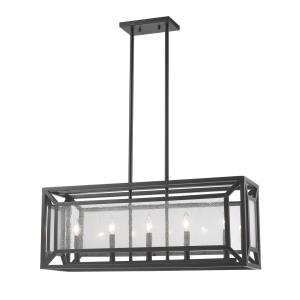 Braum - 5 Light Pendant in Modern Style - 9.1 Inches Wide by 13 Inches High