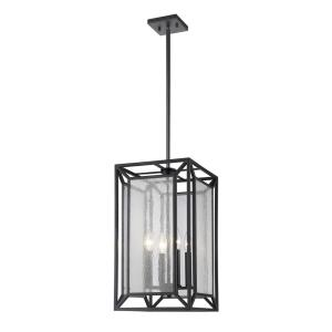 Braum - 4 Light Pendant in Modern Style - 10.6 Inches Wide by 19.5 Inches High