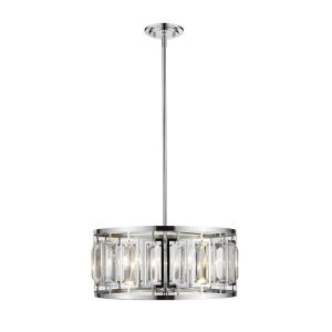 Mersesse - 5 Light Pendant in Metropolitan Style - 19 Inches Wide by 8.5 Inches High