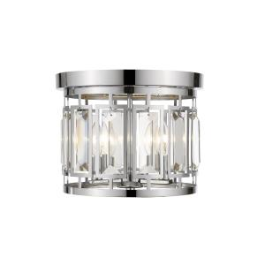 Mersesse - 3 Light Flush Mount in Metropolitan Style - 12.5 Inches Wide by 9.5 Inches High