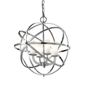 Aranya - 4 Light Pendant in Metropolitan Style - 18.31 Inches Wide by 20.25 Inches High