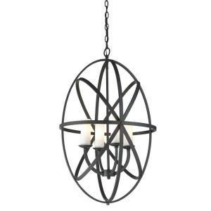 Aranya - 4 Light Pendant in Fusion Style - 19.69 Inches Wide by 30 Inches High