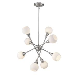 Tian - 32W 8 LED Pendant in Industrial Style - 29.25 Inches Wide by 29.38 Inches High