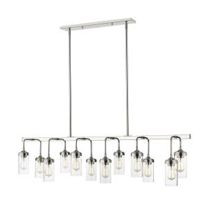 Calliope - 12 Light Pendant in Industrial Style - 60 Inches Wide by 15.25 Inches High