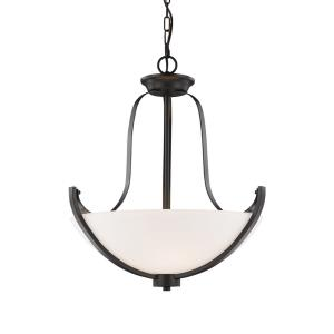 Halliwell - 3 Light Pendant in Fusion Style - 20.25 Inches Wide by 22.5 Inches High