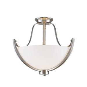 Halliwell - 3 Light Semi-Flush Mount