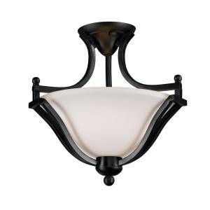Lagoon - 2 Light Semi-Flush Mount