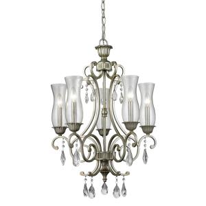 Melina - 5 Light Chandelier in Victorian Style - 22.4 Inches Wide by 28.5 Inches High