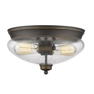 Amon - Two Light Flush Mount