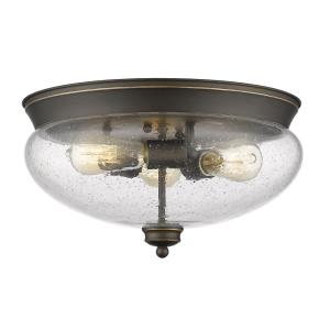Amon - Three Light Flush Mount