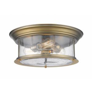 Sonna - 3 Light Flush Mount in Period Inspired Style - 15.5 Inches Wide by 6.5 Inches High