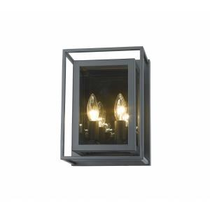 Infinity - 2 Light Wall Sconce in Linear Style - 8.25 Inches Wide by 11.25 Inches High