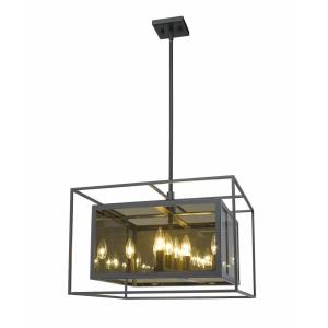 Infinity - 8 Light Pendant in Classical Style - 20 Inches Wide by 14 Inches High