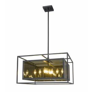 Infinity - 12 Light Pendant in Classical Style - 24 Inches Wide by 14 Inches High