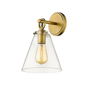 Harper - 1 Light Wall Sconce in Classical Style - 8 Inches Wide by 12.25 Inches High