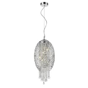 Nabul - 5 Light Pendant in Restoration Style - 12.6 Inches Wide by 142 Inches High