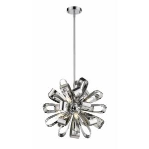 Vex - 6 Light Pendant in Contemporary Style - 19.75 Inches Wide by 19.75 Inches High