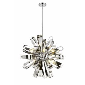Vex - 8 Light Pendant in Contemporary Style - 25.75 Inches Wide by 25.75 Inches High