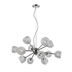 Laurentian - 12 Light Pendant in Seaside Style - 30 Inches Wide by 14.25 Inches High