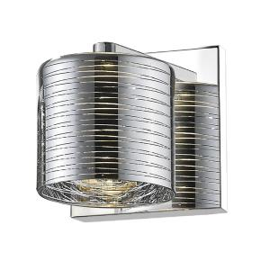 Sempter - 4W 1 LED Wall Sconce in Metropolitan Style - 4.75 Inches Wide by 4.75 Inches High