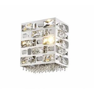 Aludra - 1 Light Wall Sconce in Metropolitan Style - 8 Inches Wide by 8.5 Inches High