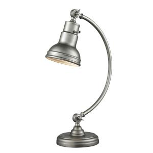 Ramsay 1 Light Table Lamp Steel Base  Shade