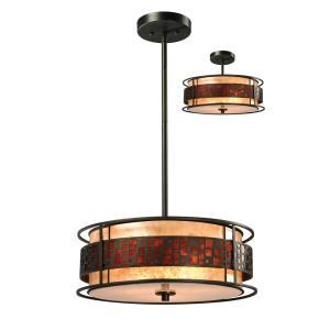 Oak Park - Three Light Pendant