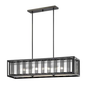 Meridional - 4 Light Pendant in Tiffany Style - 10 Inches Wide by 10 Inches High
