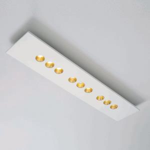 """Confort - 38.19"""" 40.5W 9 LED Rectangular Flush Mount"""