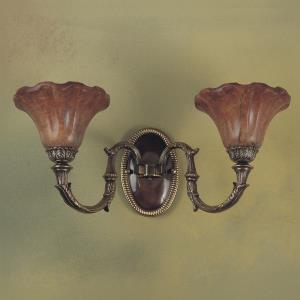 Malaga - Two Light Wall Sconce