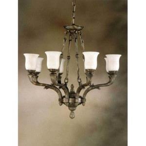 Toledo - Eight Light Chandelier