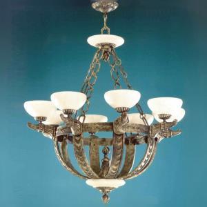 Melilla - Eight Light Chandelier