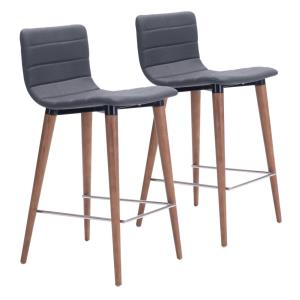 "Jericho - 34.3"" Counter Chair (Set Of 2)"