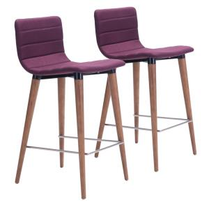 Jericho - 34.3 Inch Counter Chair (Set Of 2)