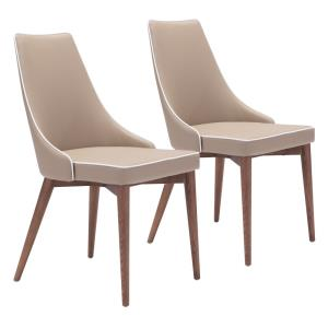 Moor - 35.8 Inch Dining Chair (Set Of 2)
