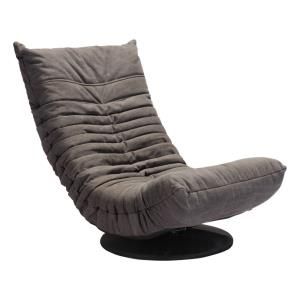 Down - 34.5 Inch Low Swivel Chair