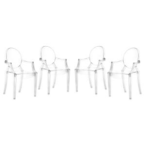 Anime - 36.5 Inch Dining Chair (Set Of 4)