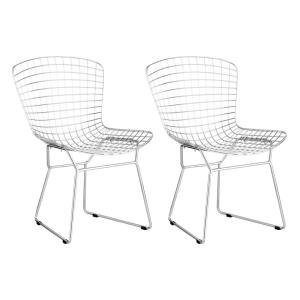 Wire - 31.5 Inch Dining Chair Wire - 31.5 Inch Dining Chair (Set Of 2)
